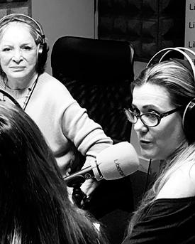 """Entrevista a la Dra. Mercedes Silvestre en el programa de radio """"Todos en Libertad"""""""